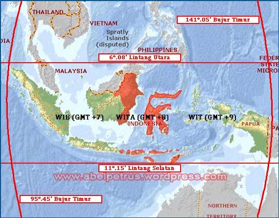 Kondisi Fisik Wilayah Penduduk Indonesia Abel Petrus Fakta Letak Gambar