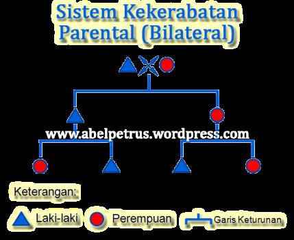 Sistem Kekerabatan Parental